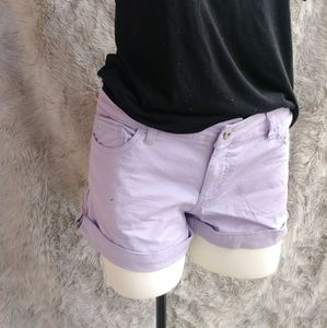 Pastel Purple Shorts